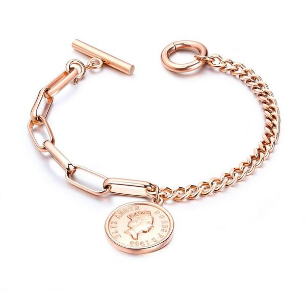 Titanium&Stainless Steel Fashion Geometric bracelet  (Steel color)  Fine Jewelry NHOP3161-Steel color