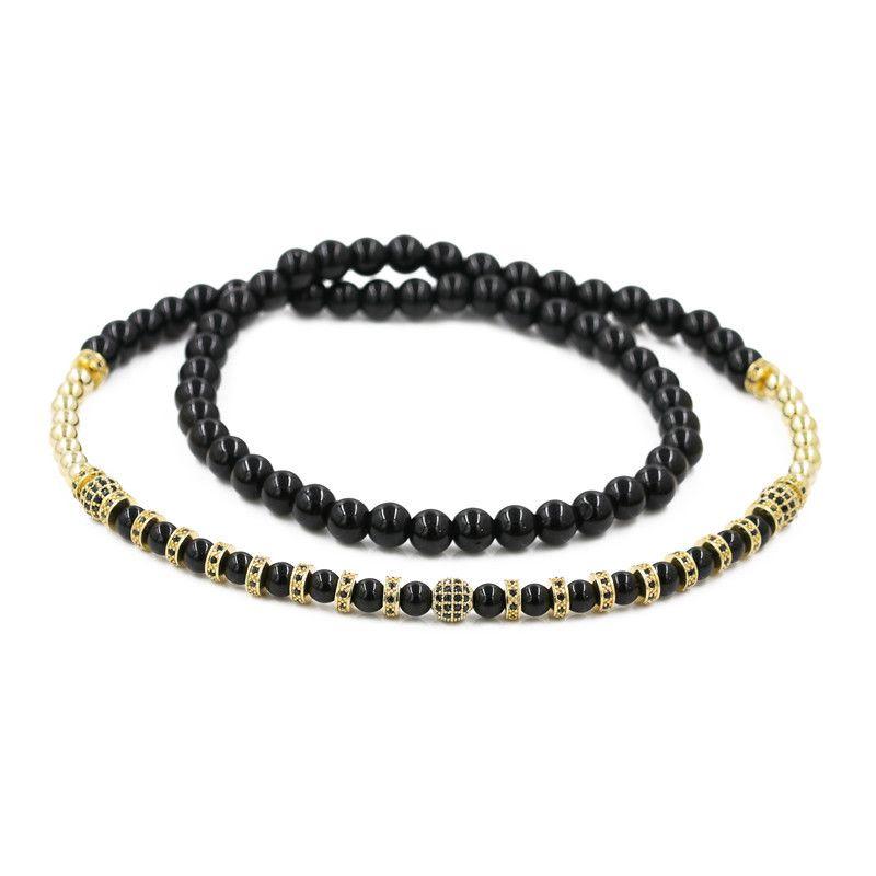 Copper Fashion Geometric necklace  (Alloy)  Fine Jewelry NHYL0600-Alloy