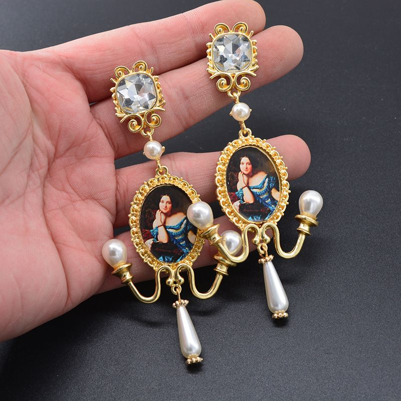 Alloy Fashion  earring  (Alloy)  Fashion Jewelry NHNT0732-Alloy