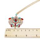 Alloy Fashion Flowers necklace  Style one  Fashion Jewelry NHOM1314Styleone