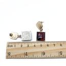 Alloy Fashion  earring  White ear clip  Fashion Jewelry NHOM1318Whiteearclip