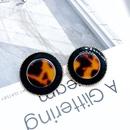 Alloy Fashion  earring  Dark earrings  Fashion Jewelry NHOM1323Darkearrings