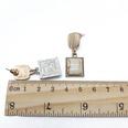 NHOM1318-White-925-silver-needle-stud-earrings