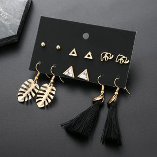 Alloy Fashion Tassel earring  (E0231)  Fashion Jewelry NHSD0522-E0231's discount tags
