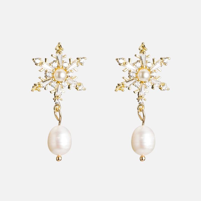 Copper Simple Geometric earring  E02002 alloyen  Fine Jewelry NHWF3720E02002alloyen