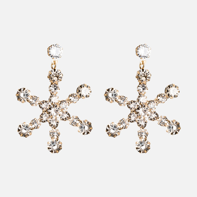 Copper Fashion Geometric earring  E01997 alloyen  Fine Jewelry NHWF3721E01997alloyen