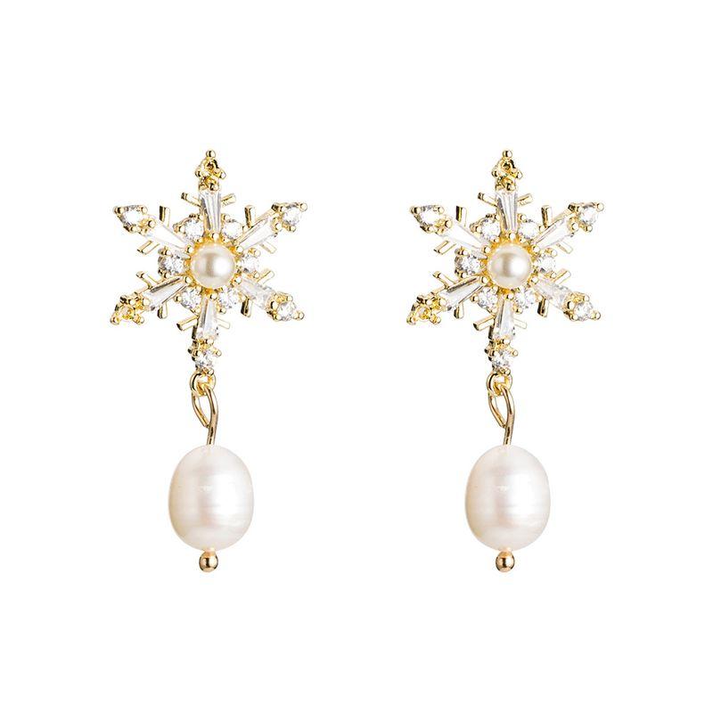 Alloy Korea Tassel earring  (Alloy)  Fashion Jewelry NHYT1491-Alloy