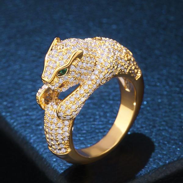 Copper Fashion Geometric Ring  (Alloy-7)  Fine Jewelry NHAS0381-Alloy-7