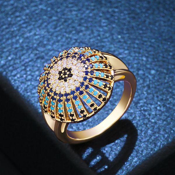 Copper Fashion Geometric Ring  (Alloy-7)  Fine Jewelry NHAS0393-Alloy-7