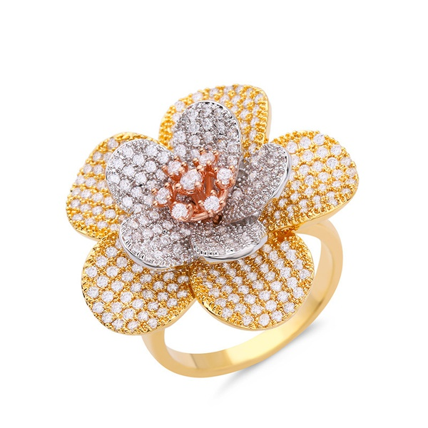 Alloy Simple Bows Ring  (Alloy-7)  Fashion Jewelry NHAS0406-Alloy-7