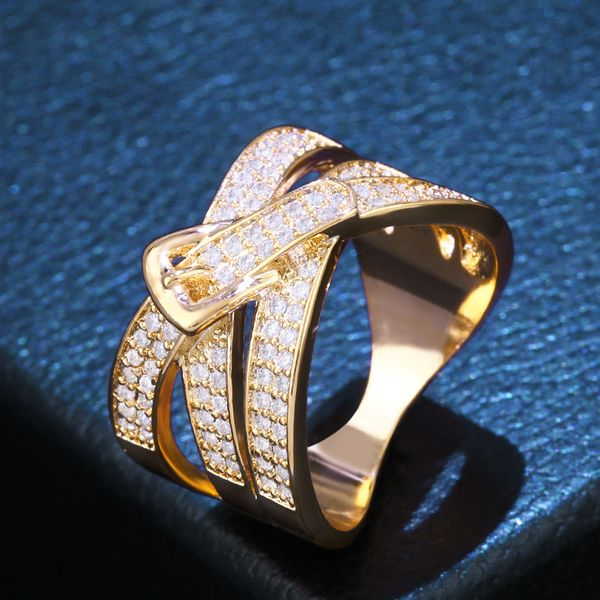 Copper Fashion Geometric Ring  (Alloy-7)  Fine Jewelry NHAS0416-Alloy-7