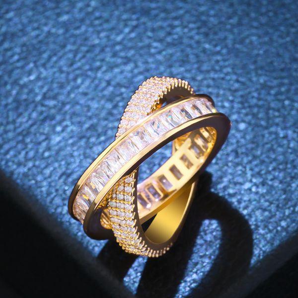 Copper Fashion Geometric Ring  (Alloy-7)  Fine Jewelry NHAS0425-Alloy-7
