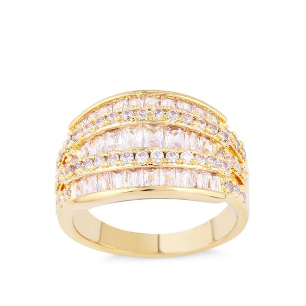 Alloy Fashion Geometric Ring  (Alloy-7)  Fashion Jewelry NHAS0433-Alloy-7