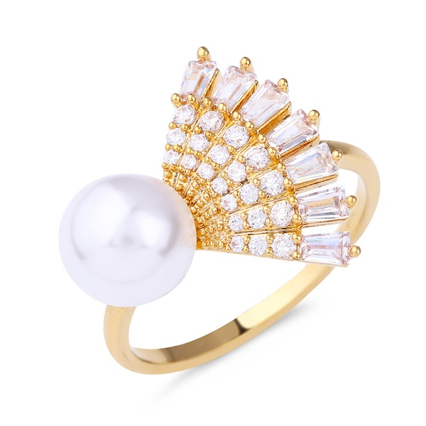 Alloy Korea Geometric Ring  (Alloy-7)  Fashion Jewelry NHAS0435-Alloy-7