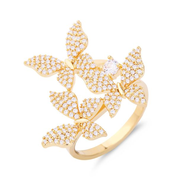 Copper Fashion Animal Ring  (Alloy-7)  Fine Jewelry NHAS0438-Alloy-7