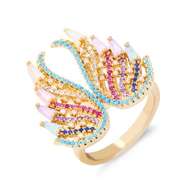 Copper Fashion Animal Ring  (Alloy-7)  Fine Jewelry NHAS0449-Alloy-7