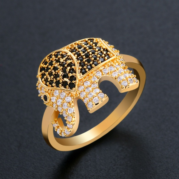 Copper Simple Animal Ring  (Alloy-7)  Fine Jewelry NHAS0451-Alloy-7