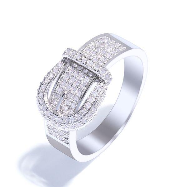 Copper Fashion Geometric Ring  (Alloy-7)  Fine Jewelry NHAS0452-Alloy-7