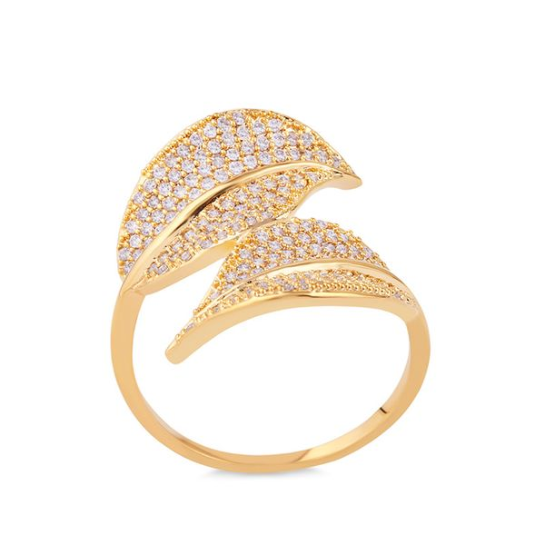 Copper Simple  Ring  (Alloy-7)  Fine Jewelry NHAS0457-Alloy-7