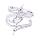 Copper Korea Geometric Ring  Alloy7  Fine Jewelry NHAS0338Alloy7