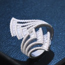 Copper Fashion Geometric Ring  Alloy7  Fine Jewelry NHAS0370Alloy7