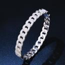 Copper Fashion Geometric bracelet  18K alloy  Fine Jewelry NHAS038418Kalloy