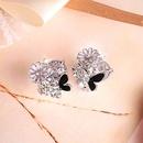 Alloy Korea Flowers earring  Alloy  Fashion Jewelry NHAS0411Alloy