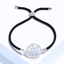 Copper Korea Geometric bracelet  Red rope alloy  Fine Jewelry NHAS0431Redropealloy