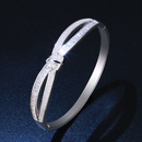 Copper Fashion Geometric bracelet  18K alloy  Fine Jewelry NHAS043918Kalloy