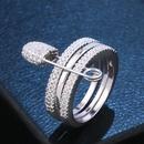 Copper Fashion Geometric Ring  Alloy7  Fine Jewelry NHAS0442Alloy7