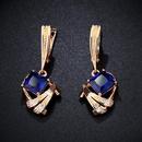 Alloy Simple Geometric earring  white  Fashion Jewelry NHAS0444white