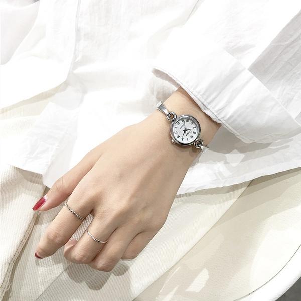Alloy Fashion  Children watch  (Alloy belt white plate)  Fashion Watches NHJS0407-Alloy-belt-white-plate
