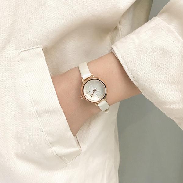 Alloy Fashion  Ladies watch  (Black belt black disk)  Fashion Watches NHJS0414-Black-belt-black-disk