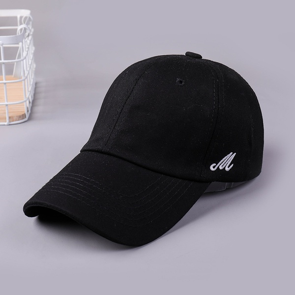 Cloth Korea  hat  (XB337 side letter black)  Fashion Jewelry NHXB0313-XB337-side-letter-black