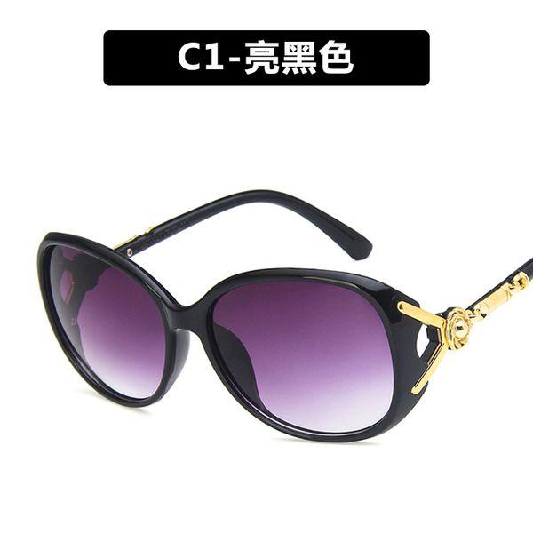 Plastic Fashion Flowers glasses  (C1)  Fashion Jewelry NHKD0631-C1