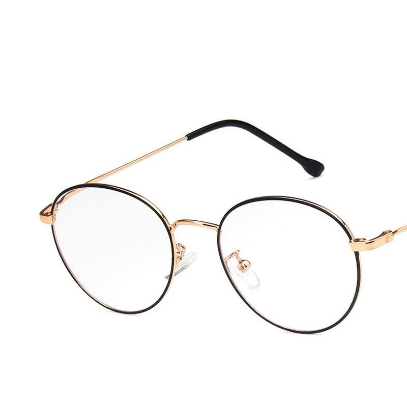 Alloy Vintage  glasses  (Rose alloy painted black)  Fashion Jewelry NHKD0661-Rose-alloy-painted-black