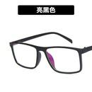 Plastic Vintage  glasses  Transparent light black tea  Fashion Jewelry NHKD0616Transparentlightblacktea