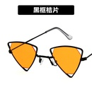 Alloy Vintage  glasses  Red frame red piece  Fashion Jewelry NHKD0653Redframeredpiece