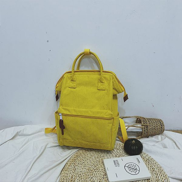 Cotton Korea  backpack  (yellow)  Fashion Bags NHTC2821-yellow