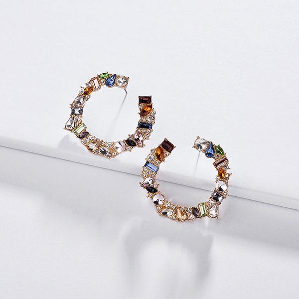 Alloy Fashion Geometric earring  (Photo Color)  Fashion Jewelry NHLU0596-Photo-Color
