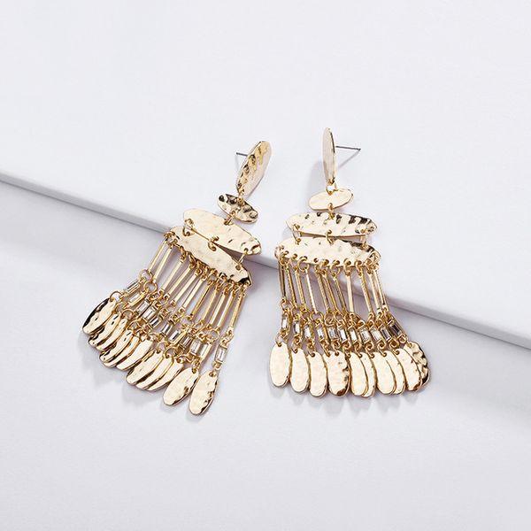 Alloy Fashion Geometric earring  (Photo Color)  Fashion Jewelry NHLU0600-Photo-Color