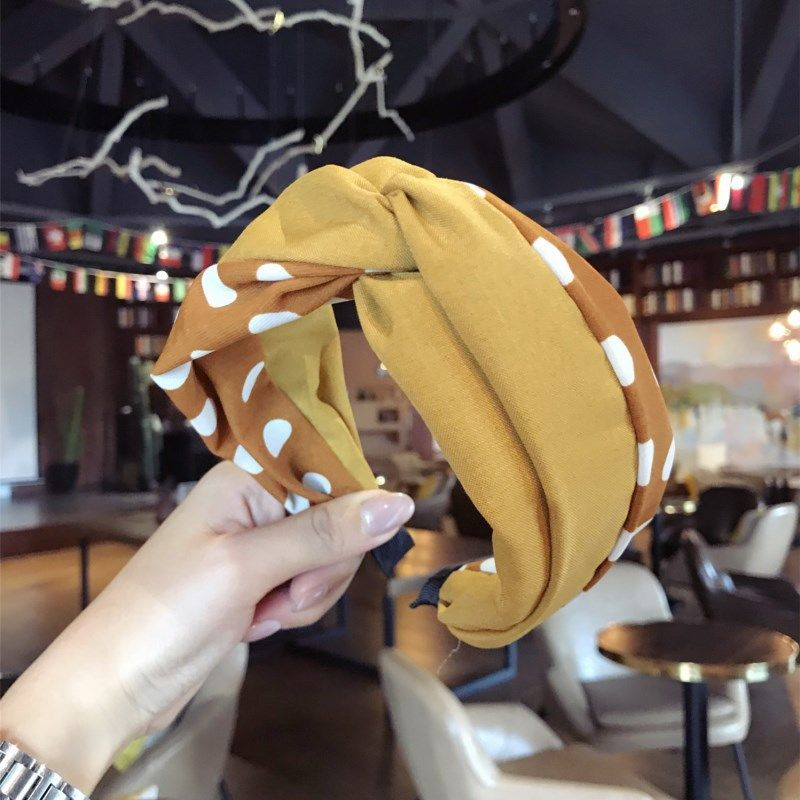Cloth Simple Bows Hair accessories  yellow  Fashion Jewelry NHSM0032yellow