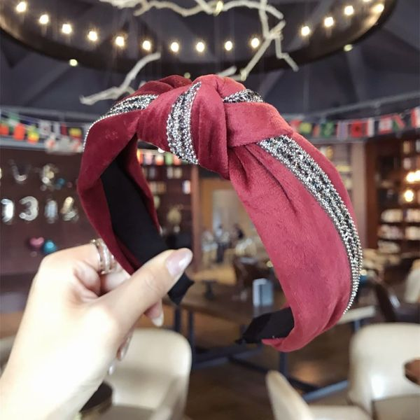 Cloth Korea  Hair accessories  (red)  Fashion Jewelry NHSM0049-red