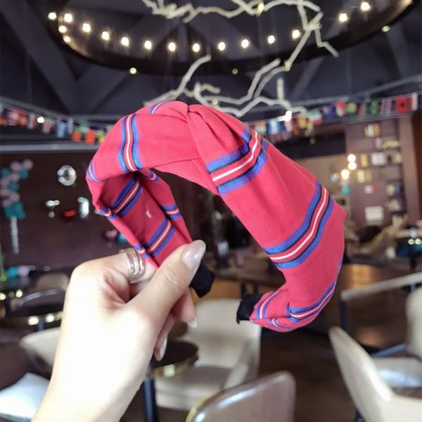 Cloth Korea Bows Hair accessories  (red)  Fashion Jewelry NHSM0056-red