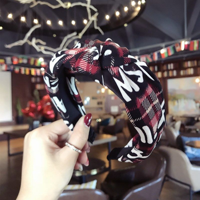 Cloth Korea Bows Hair accessories  (red)  Fashion Jewelry NHSM0087-red