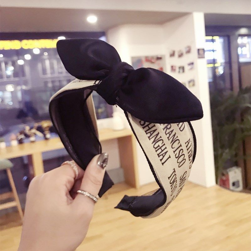 Cloth Korea Bows Hair accessories  (letter)  Fashion Jewelry NHSM0127-letter