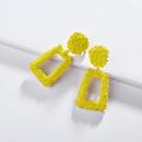 Alloy Fashion Flowers earring  A0542RD  Fashion Jewelry NHLU0592A0542RD
