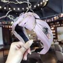 Cloth Korea Bows Hair accessories  yellow  Fashion Jewelry NHSM0001yellow