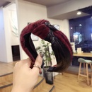 Cloth Korea Bows Hair accessories  black  Fashion Jewelry NHSM0018black