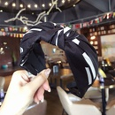 Cloth Simple Bows Hair accessories  black  Fashion Jewelry NHSM0036black